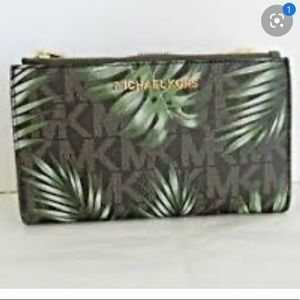 Michael Kors Signature Palm leaf Print Writslet